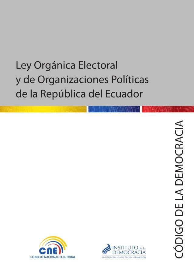 República del Ecuador Consejo Nacional Electoral Domingo Paredes Castillo CONSEJERO - PRESIDENTE Paul Salazar Vargas CONSE...