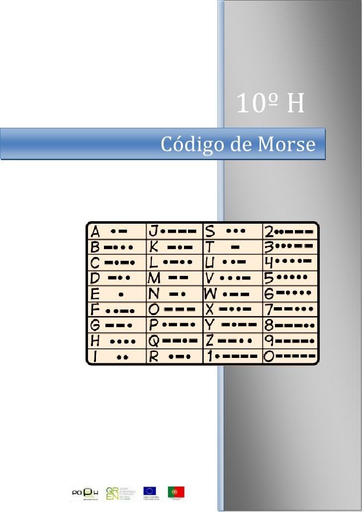 10º HCódigo de Morse