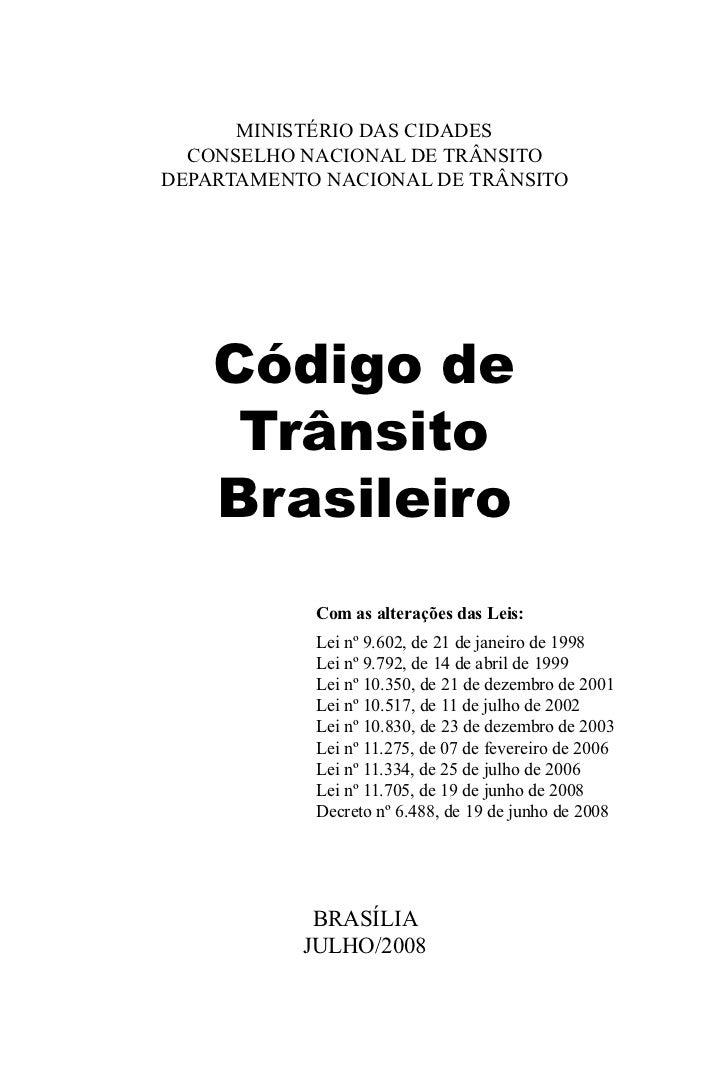 Código nacional de trânsito