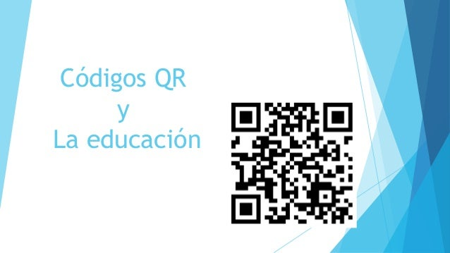 Códigos QR y La educación
