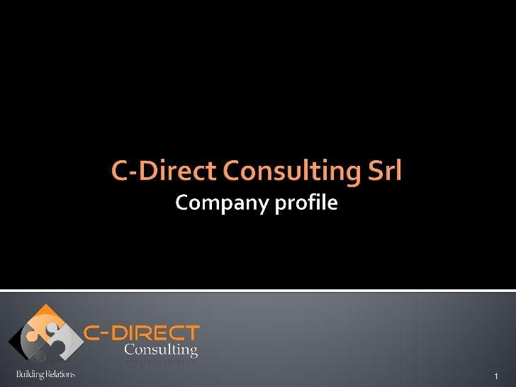 C-Direct Consulting, consulenza e formazione in area CRM, Marketing Relazionale, Social CRM, Lead Management, Customer Experience