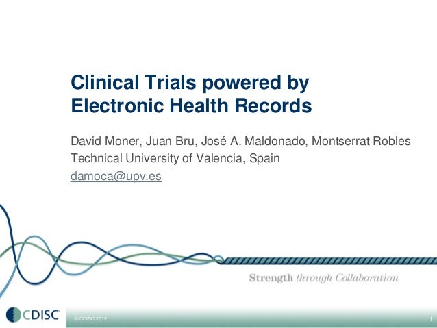 Clinical Trials powered by Electronic Health Records