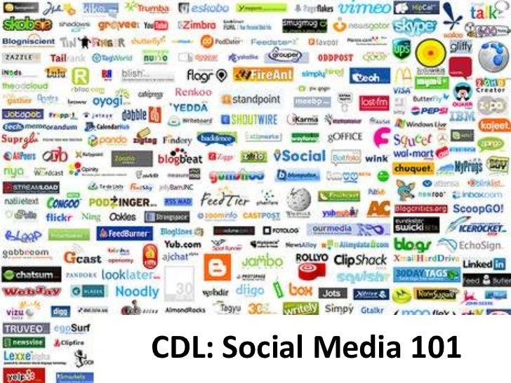CDL: Social Media 101<br />