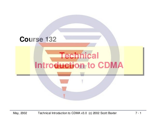 CDMA Introducton