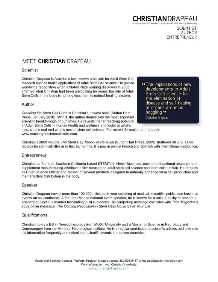 CHRISTIAN DRAPEAU                                                                                A Visionary Voice for Rea...