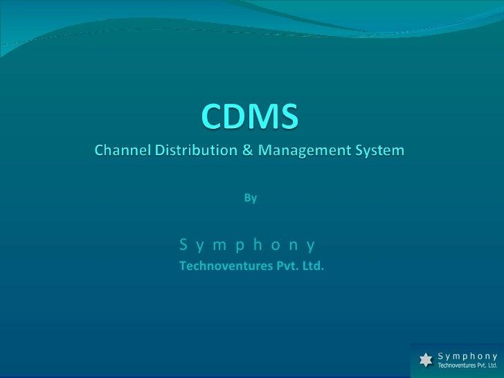 Channel Distribution Management System