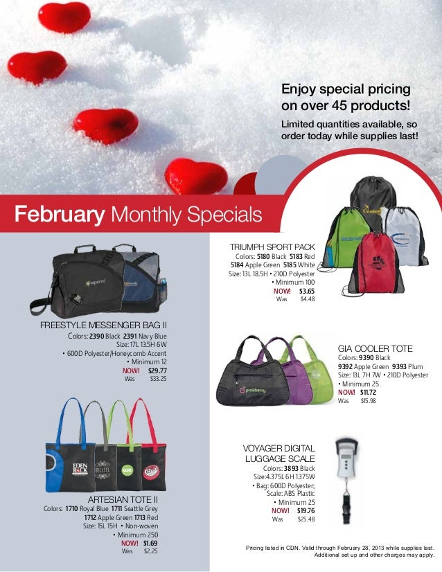 Enjoy special pricing                                                                      on over 45 products!           ...
