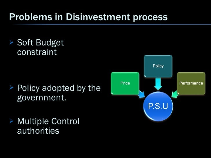disinvestment policy of indian government Disinvestment of public sector enterprises this book traces the philosophy and growth of pses in india and describes recent policy indian government has.