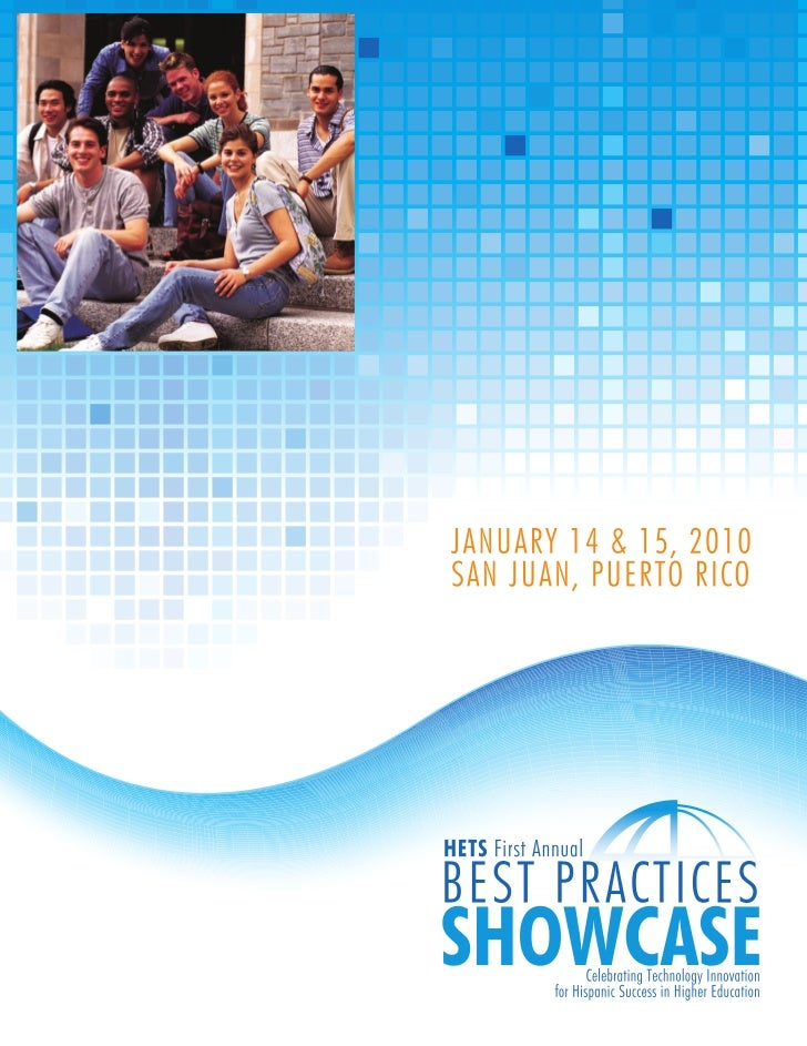 HETS First Annual Best Practices Showcase