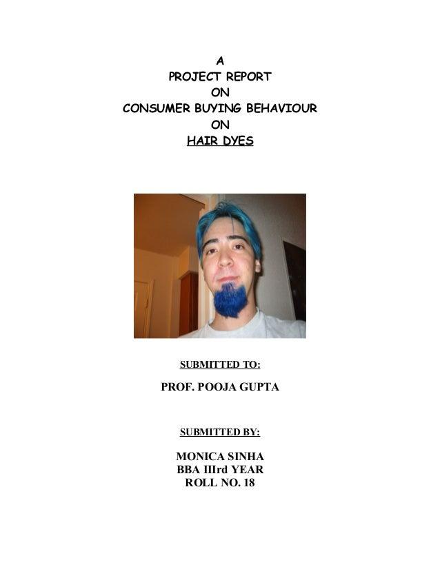 hair dye ppt.