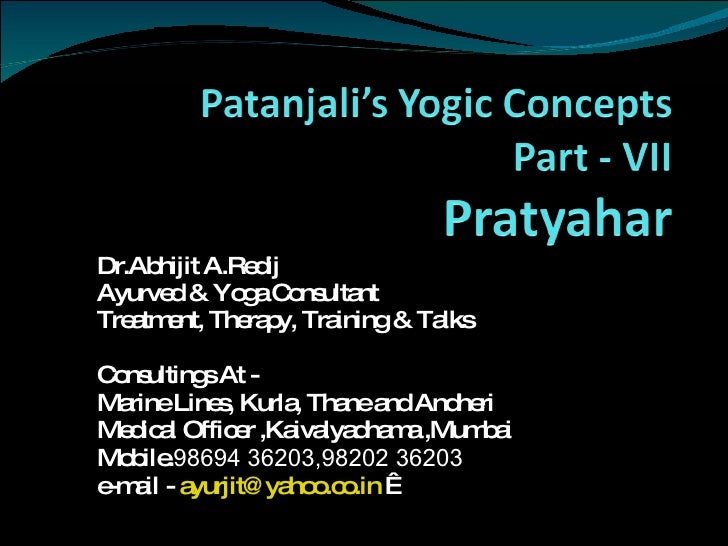 Dr.Abhijit A.Redij Ayurved & Yoga Consultant Treatment, Therapy, Training & Talks Consultings At - Marine Lines, Kurla, Th...