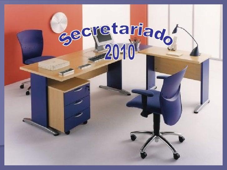 Secretariado 2010
