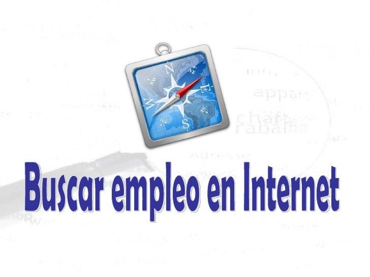 Búsqueda de empleo en Internet