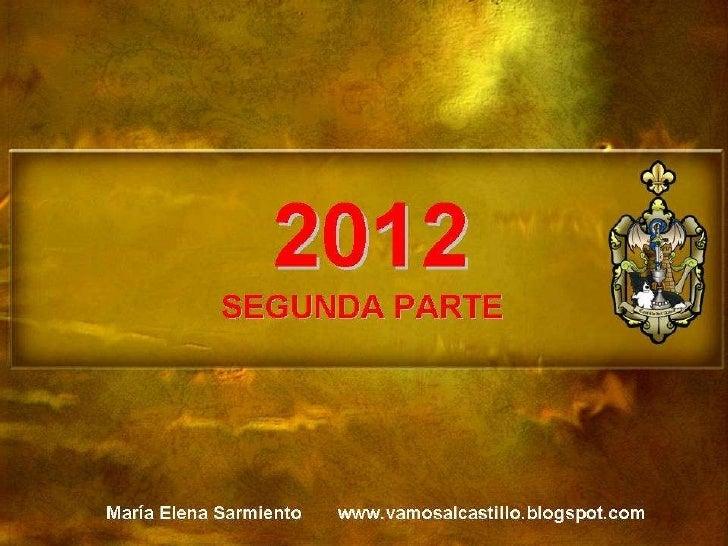 2012 SEGUNDA PARTE