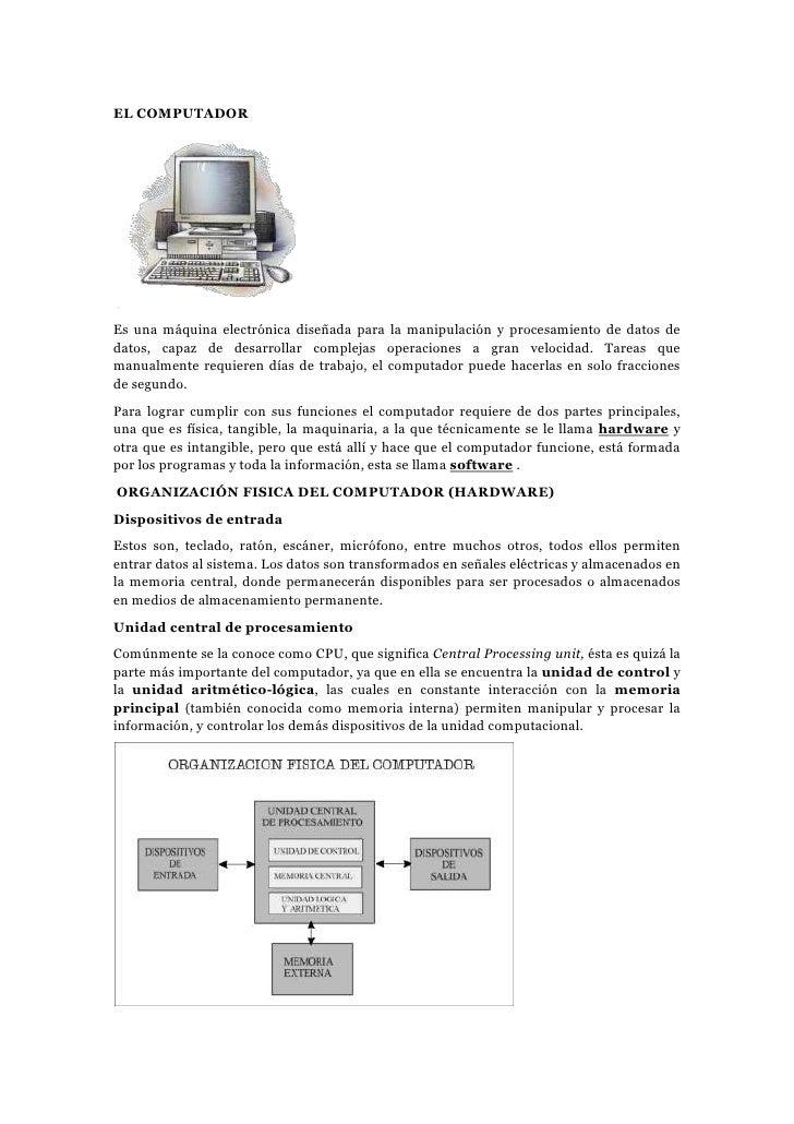 C:\Documents And Settings\Administrador\Mis Documentos\El Computador