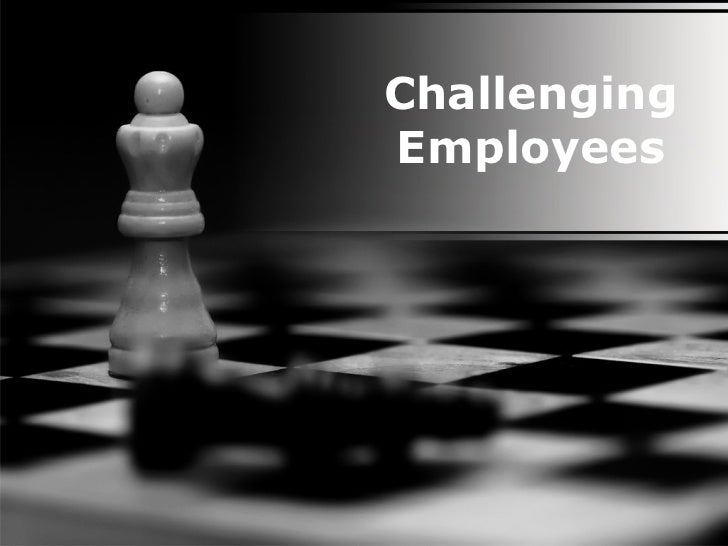 Challenging Employees PowerPoint PPT Content Modern Sample