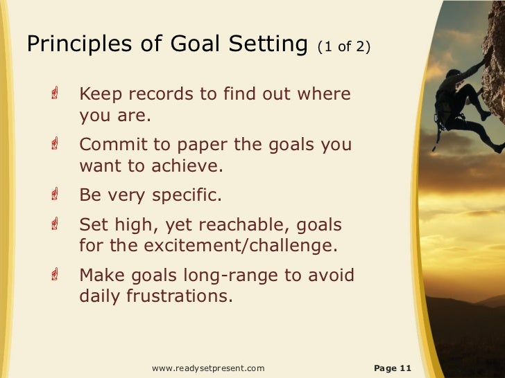 importance of setting goals essay Smart goal setting process reaching and maintaining a healthy weight is important for overall health and can help you prevent and control many diseases and conditions that is why i am using the smart goal setting process to lose tem pounds by the end of the year.