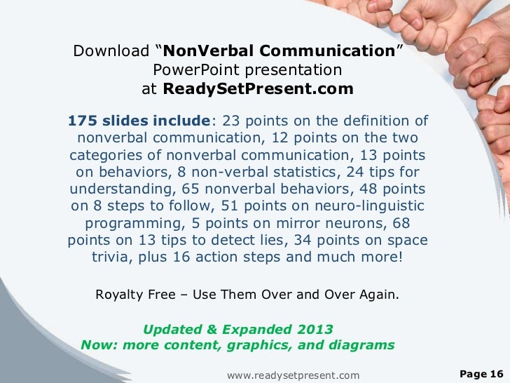 "Verbal Communication Powerpoint Communication"" Powerpoint"