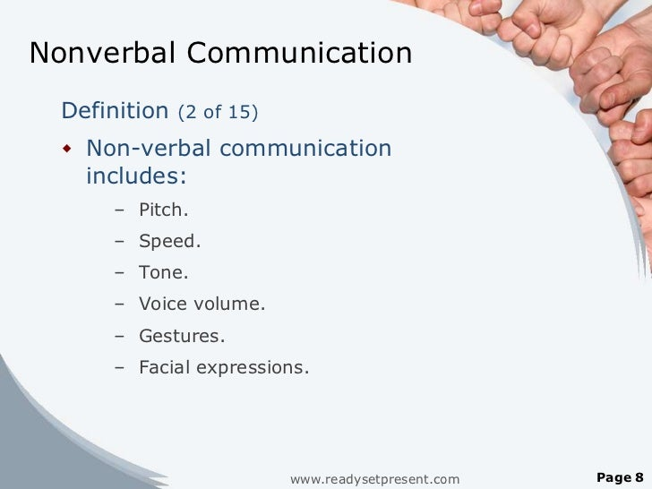 """nonverbal communication ashley Nonverbal communication: the power of touch communicating nonverbally can be a touchy situation if done without gauging another's response to being touched, it can be problematical  ashley montagu (1986) states that a human being cannot survive without the physical and behavioral functions performed by the skin """"among all the senses."""