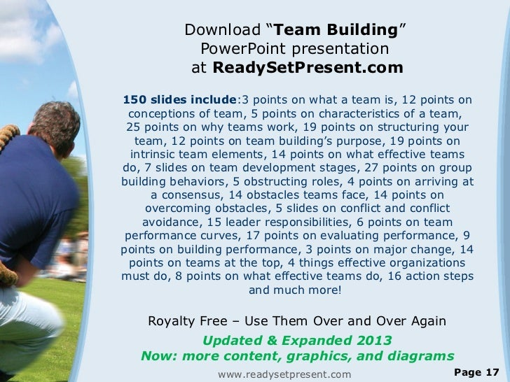 Www Readysetpresent Com Team Building