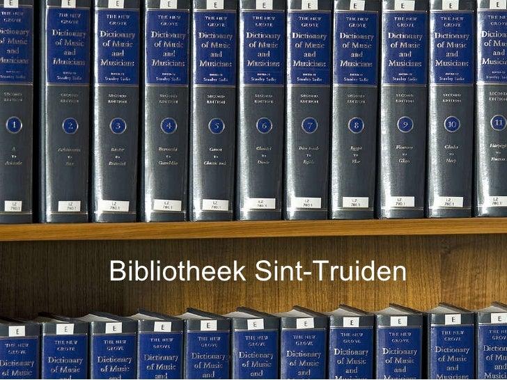 Bibliotheek Sint-Truiden