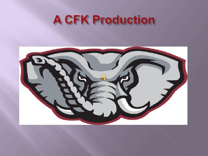 Alabama Football Tradition - download the PP presentation=audio/narration
