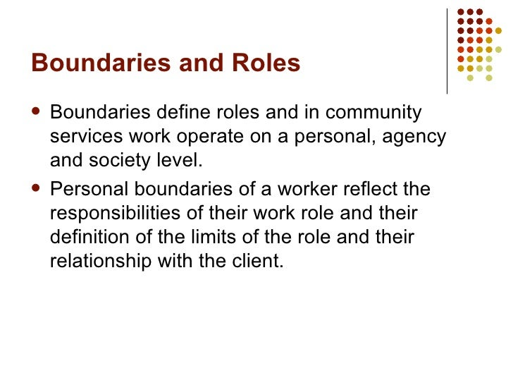 the roles responsibilities and boundaries of Be professional: this includes: ensuring learning takes place so the syllabus requirements are met and the students are likely to succeed in their.