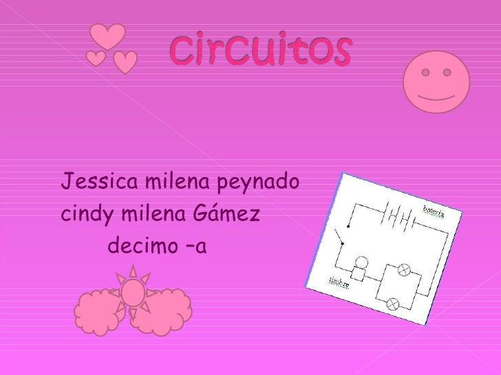 <ul><li>Jessica milena peynado  </li></ul><ul><li>cindy milena Gámez  </li></ul><ul><li>decimo –a  </li></ul>