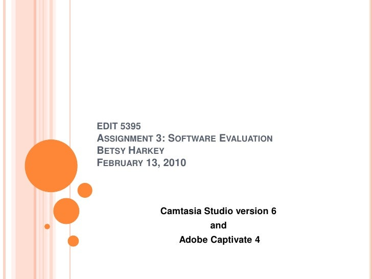 Camtasia versus Captivate