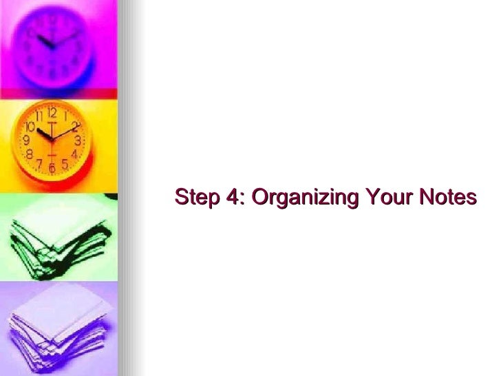 organizing thesis notes Writing assignments (length, plans to see a thesis statement, notes, and/or draft plans for conferencing and peer review, etc) common key words for essay exams and ideas for organizing around them comparison - contrast.