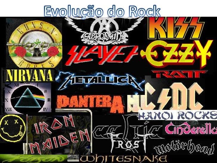 Evolução do Rock<br />