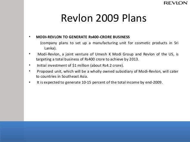 revlon business plan