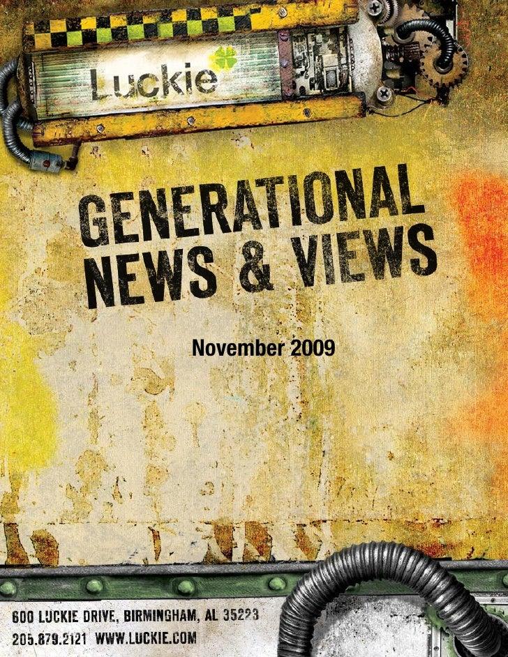 Generational News & Views Nov. 2009
