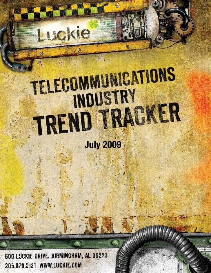 Telecom Trend Tracker July 2009