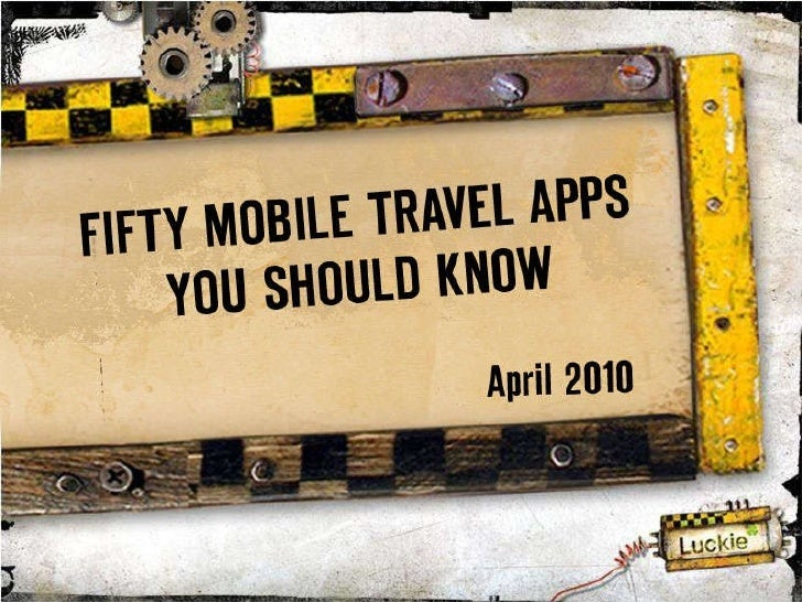 Fifty Mobile Travel Apps You Should Know