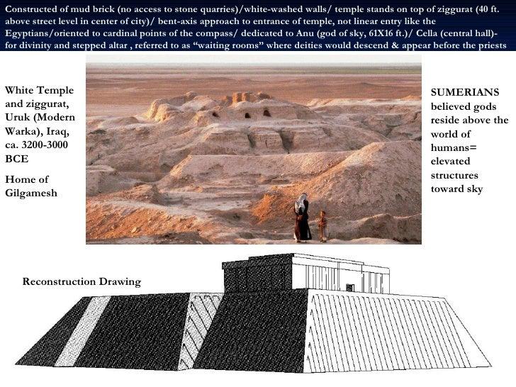 ziggurat temple drawing