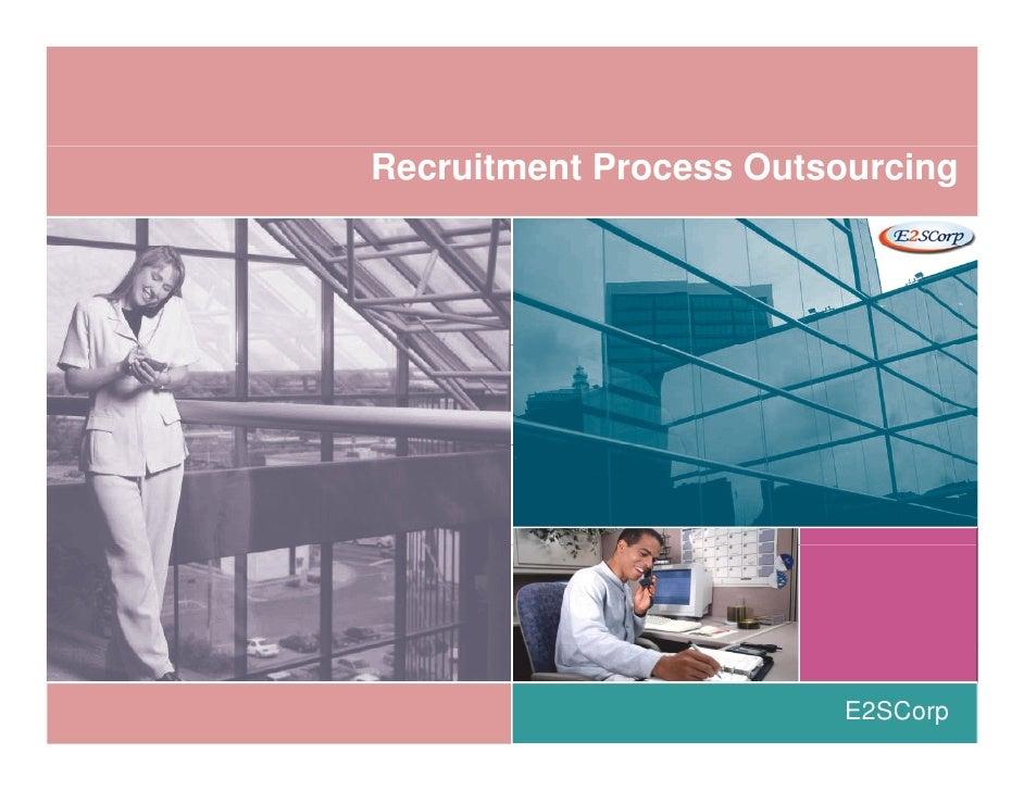 RPO - Recruitment Process Outsourcing