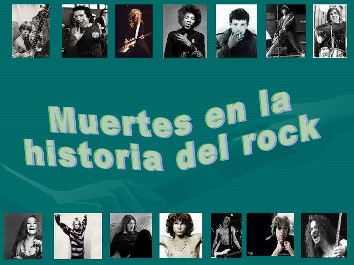 Muertes en la historia del rock for Espectaculo historia del rock