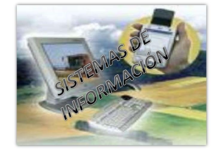 Un sistema de información es un conjunto de elementos que interactúan entre sí con el fin de apoyar las actividades de una...