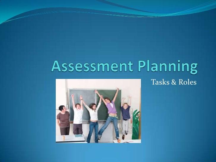 Tasks & Roles