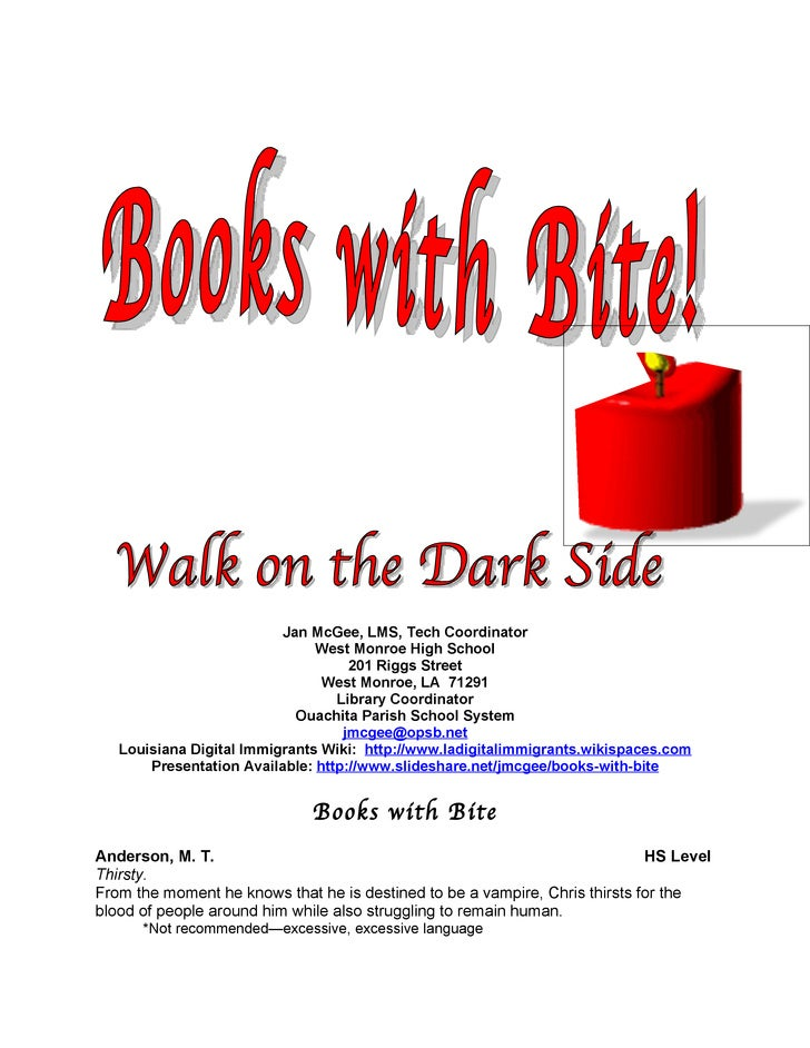Books with Bite Bibliography