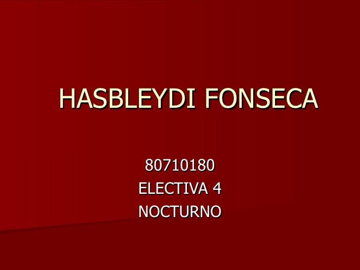 HASBLEYDI FONSECA 80710180 ELECTIVA 4 NOCTURNO