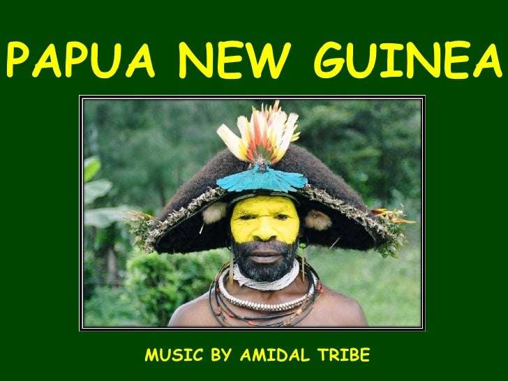 PAPUA NEW GUINEA MUSIC BY AMIDAL TRIBE