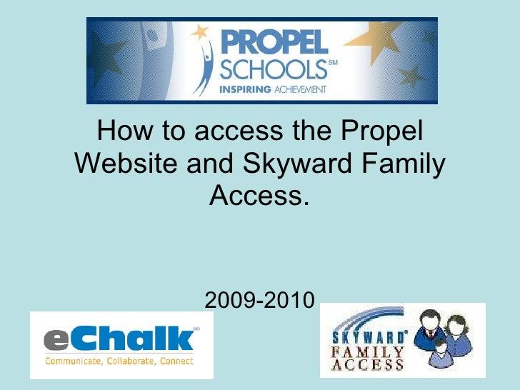 Accessing Skyward Parent Access
