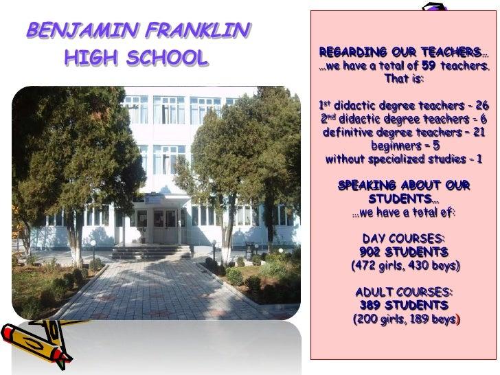 Bejamin Franklin school