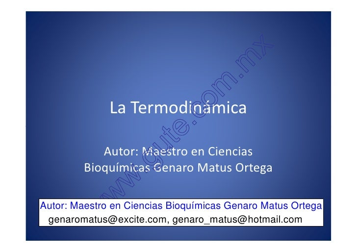 11 Introducción a la Termodinámica