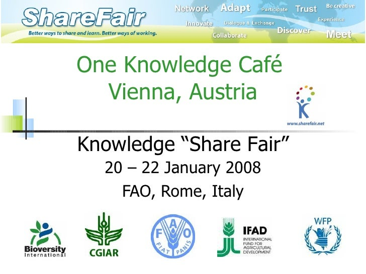 One Knowledge Cafe