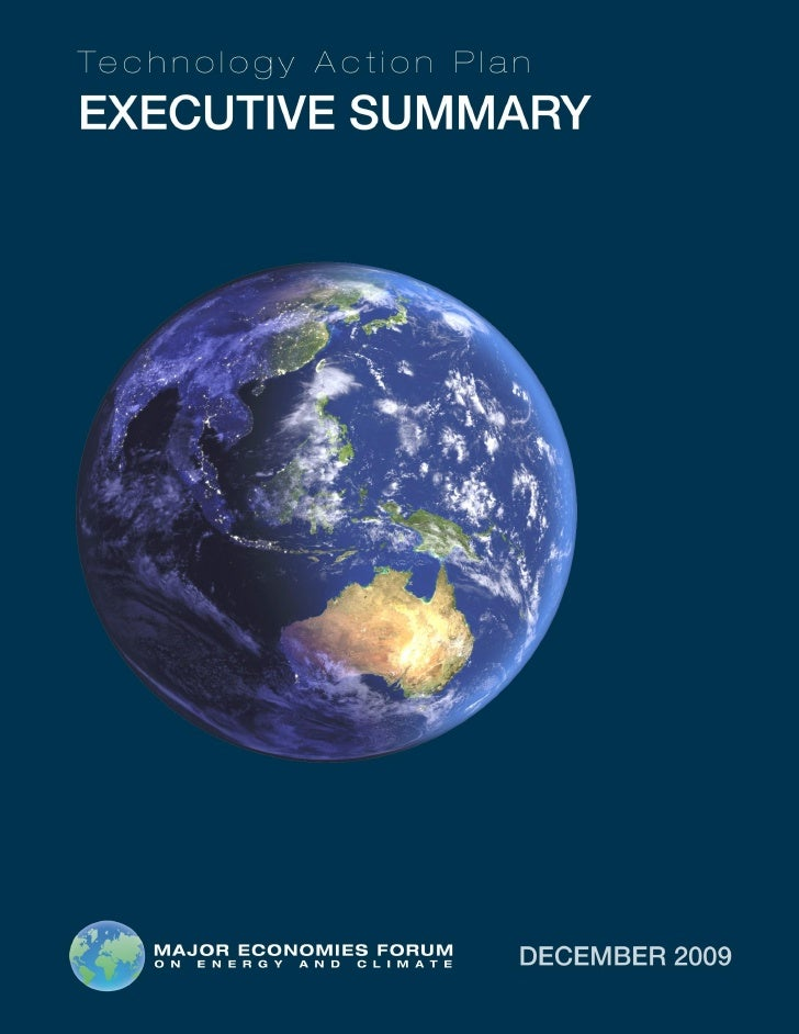 Exec Summary 14 Dec 2009