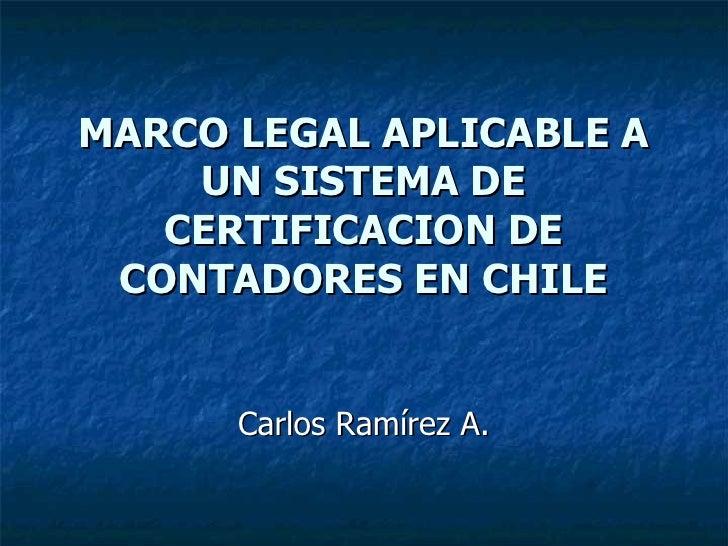 diapositivas de marco legal