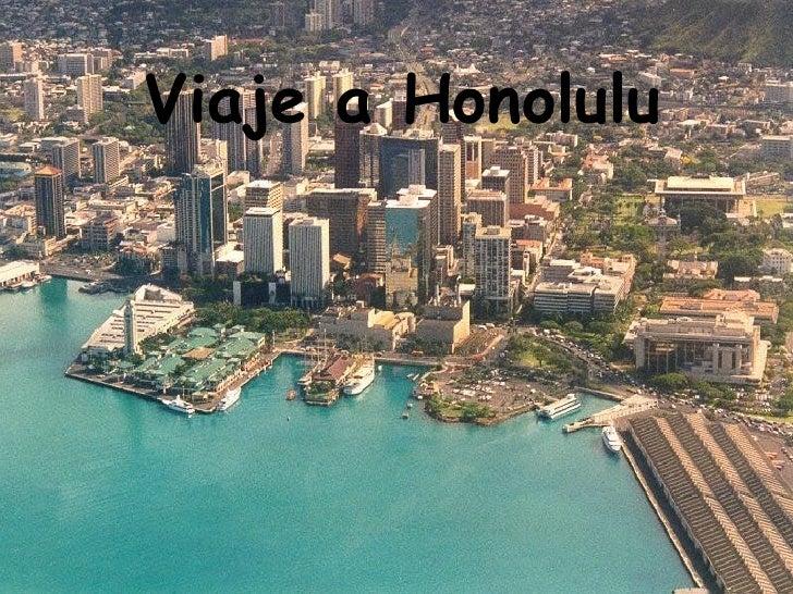 Viaje a Honolulu